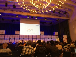 Start der StartupCon 2015